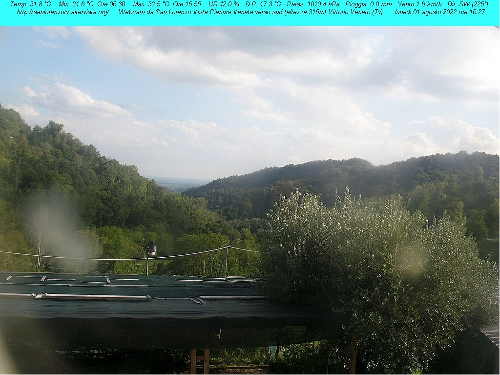 Webcam Vittorio Veneto - Zona San Lorenzo TV
